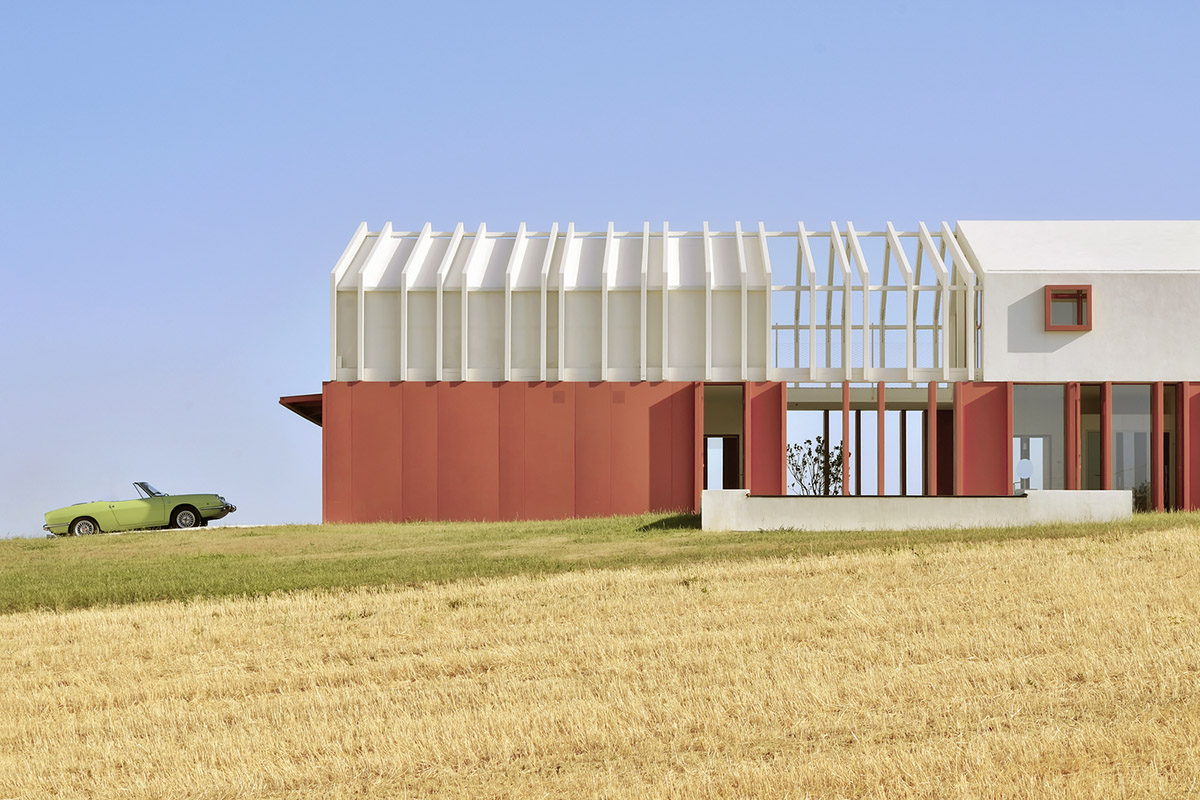 Cinematic appearance for Border Crossing House in Italy